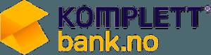 Logo tilhørende Komplett Bank.